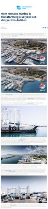 02.03.2021 SUPERYACHT TIMES<br>How Monaco Marine is transforming a 50-year-old shipyard in Antibes