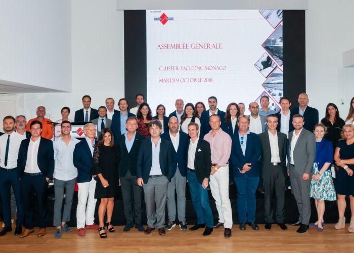 Cluster Yachting Monaco <br /> Nouveau Conseil élu en 2019